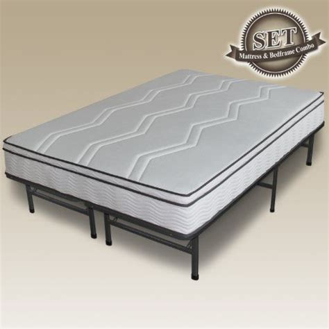 Bed Ebox Master sleep master 11 quot box top memory foam and pocketed hybrid mattress complete set
