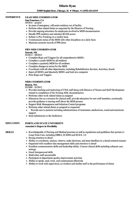 Mds Cover Letter by Restorative Sle Resume Cover Letter Sle Financial Accounting Manager Sle