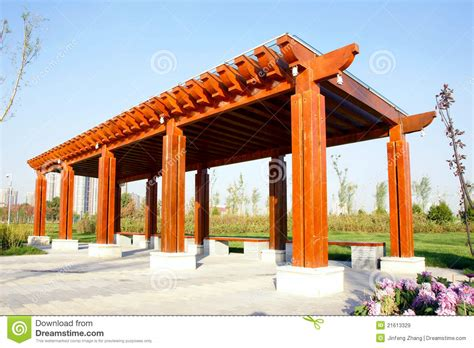 Wooden Arbour Wooden Arbour Royalty Free Stock Images Image 21613329