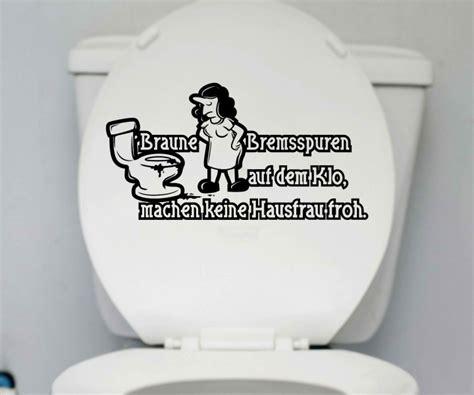 lustige toilettendeckel wc deckel aufkleber hausfrau toilette lustig spruch