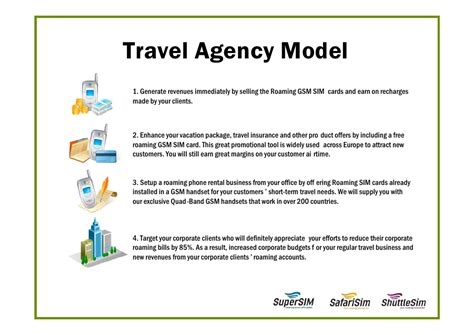 business plan template for travel agency business for travel agencies