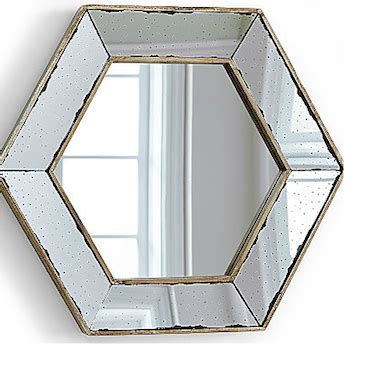 Hexagon Bevelled Mirror 10pcs 1 beveled look 4 less and steals and deals