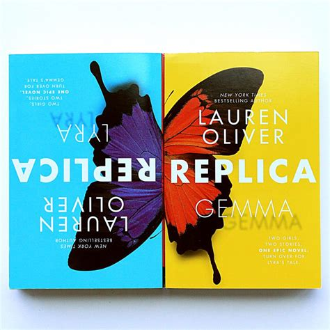 replica book one in book review lauren oliver s replica left me feeling split amreading