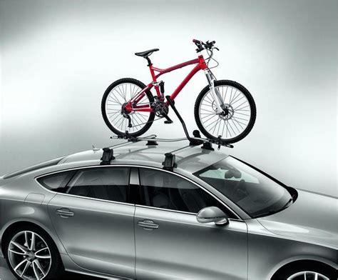 2009 audi a4 bike roof rack audi a4 s4 rs4 rs5 rs6 a8 q5 q7 bicycle carrier bike rack