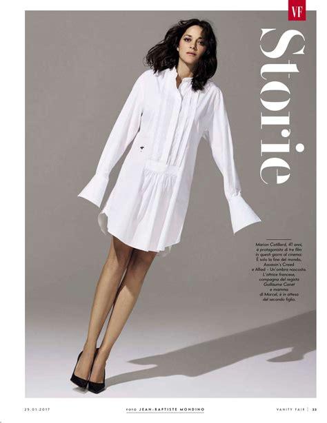 Vanity Fair Magazine Editorial Calendar 2017 Marion Cotillard Vanity Fair Italy 2017 03 Gotceleb