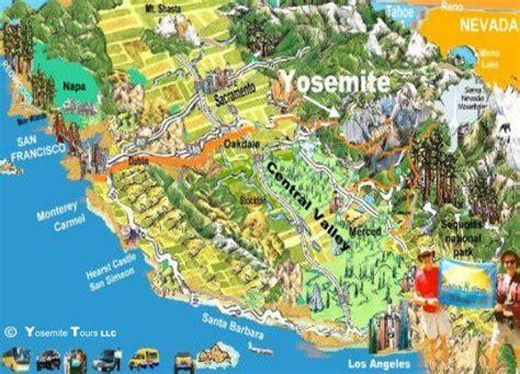 map san francisco to yosemite national park tour dello yosemite tours dello yosemite tour allo