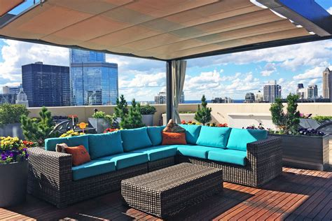 rooftop patios rooftop patio covers chicago shadefx