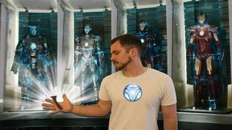 shave tony stark iron man avengers