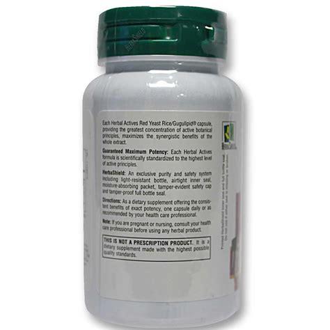 Natures Plus Yeast Rice Gugulipid nature s plus yeast rice with gugulipid 60 vcapsules evitamins