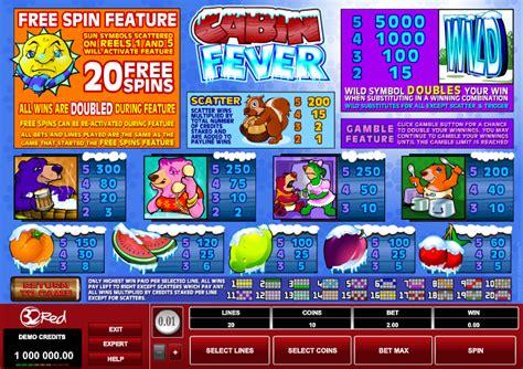 cabin fever review cabin fever slots review slots guru