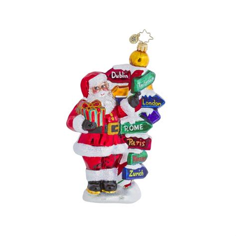 around the world ornaments all around the world ornament by christopher radko