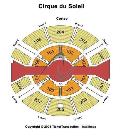 cirque du soleil o seating chart with seat numbers randalls island tickets in new york randalls island