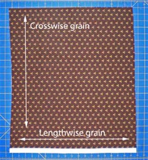 grain pattern meaning fabric grain explained
