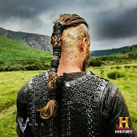 what are the tatoos on ragnars head of ragnar s head tattoo and hair for my sketch viking
