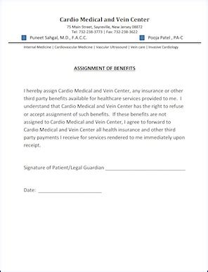 assignment of benefits form template assignment of benefits form template 28 images assignment of benefits form template template