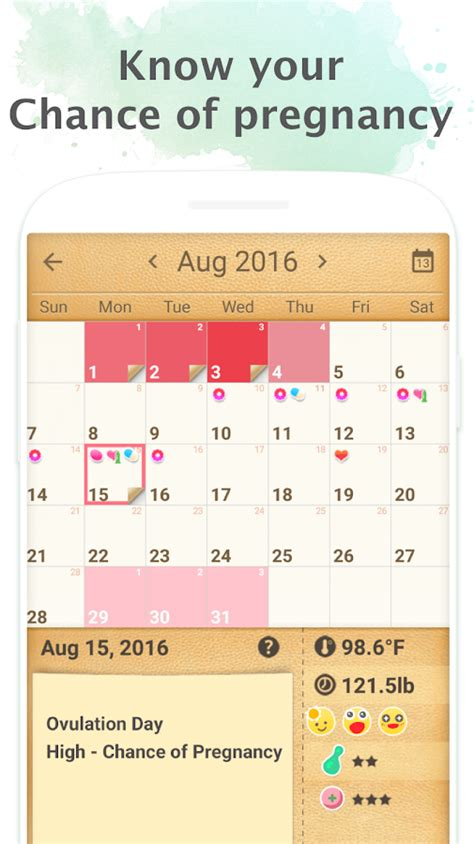 7 Tips On A Menstruation Calendar by Period Tracker Period Calendar Ovulation Tracker