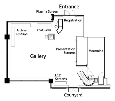 small art gallery floor plan tmx tmx group tmx broadcast centre facility rentals