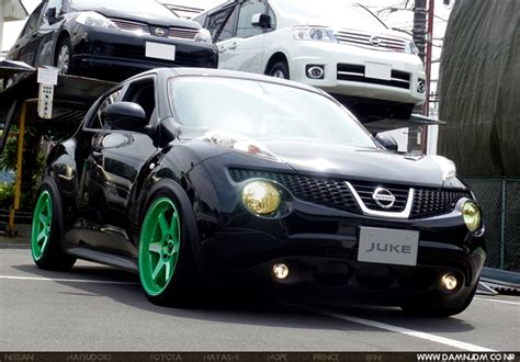green nissan juke best tuning nissan juke modif wide airbrush