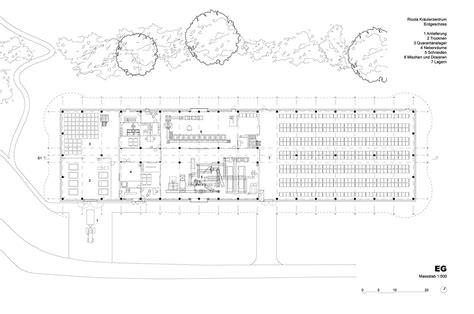 Rehabilitation Center Floor Plan Herzog Amp De Meuron Completed The Ricola Center In Laufen