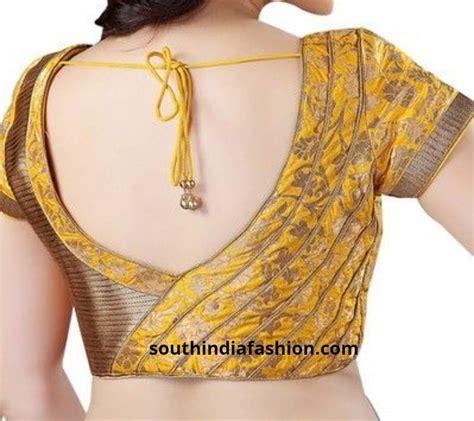 back neck pattern designs 10 interesting back neck designs for pattu saree blouses