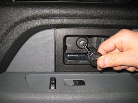 remove interior door panel ford f 150