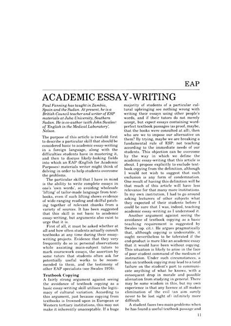 Exles Of Academic Essay by Inspirational Sle Academic Essay Resume Daily