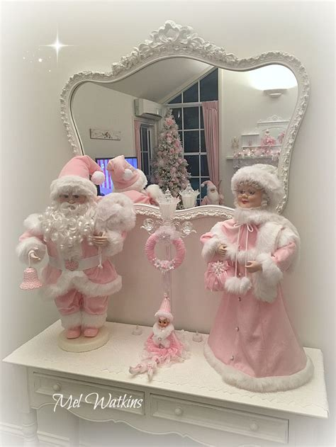 decorating with one pink chic went shopping and redone my 1522 best shabby pink christmas images on pinterest pink