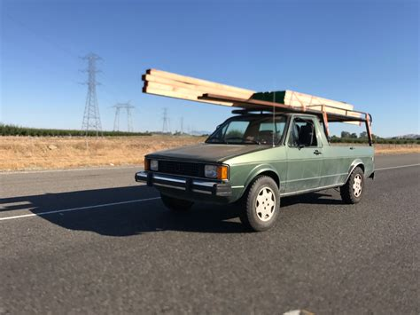 volkswagen caddy lifted mk1 caddy tdi frankenbuilt turbo diesel lumber rack