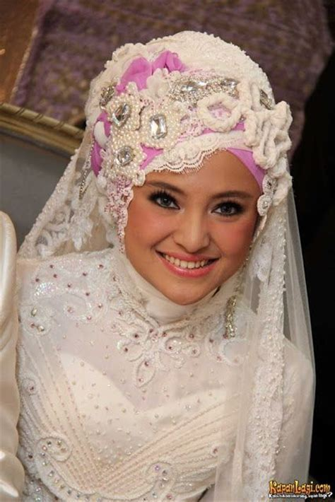Jilbab Nikah Nikah Cewekcowok Foto 10 Ide Model Jilbab