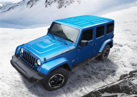 Jeep Wrangler Polar Jeep Wrangler Polar Limited Edition Revealed