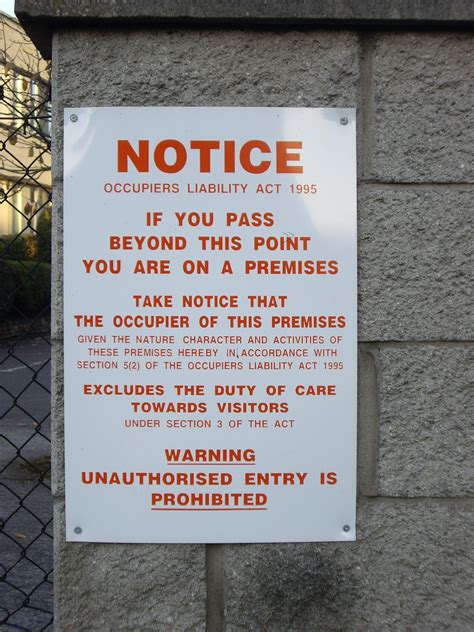 section 59 warning notice file occupiers liability warning notice ireland jpg