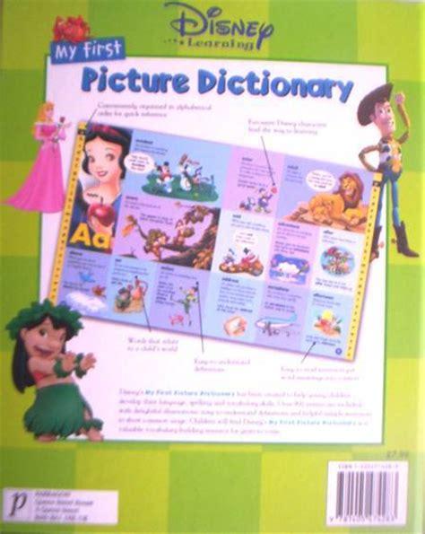 Disney Dictoonary Original educational my picture dictionary original disney