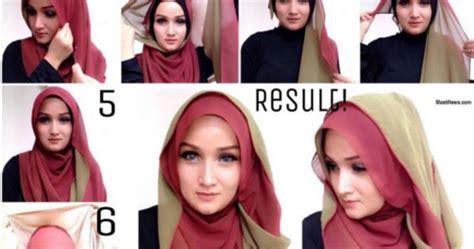 tutorial hijab wisuda 2016 tutorial hijab untuk wisuda simple terbaru 2016