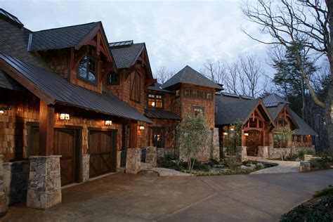 mountainside house plans rustic mountain home plans house design ideas