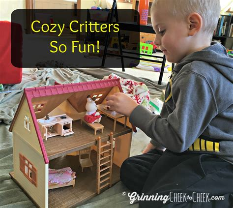 calico critter cozy cottage calico critters cozy cottage grinning cheek to cheek