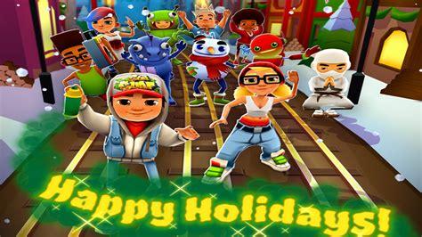 happy holidays subway surfers walkthrough youtube
