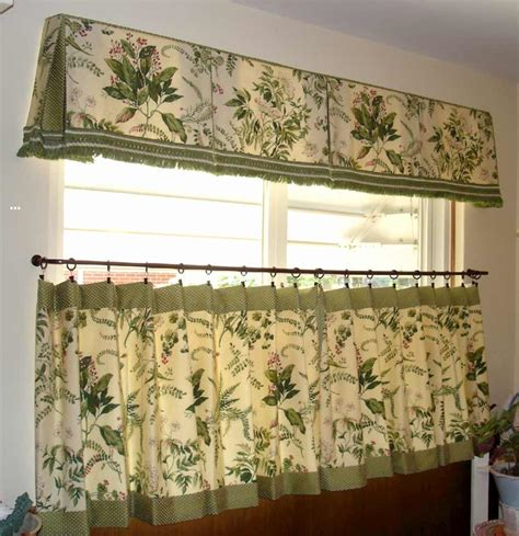 Kitchen Cafe Curtains Ideas Cafe Curtains For Kitchen Feel The Home
