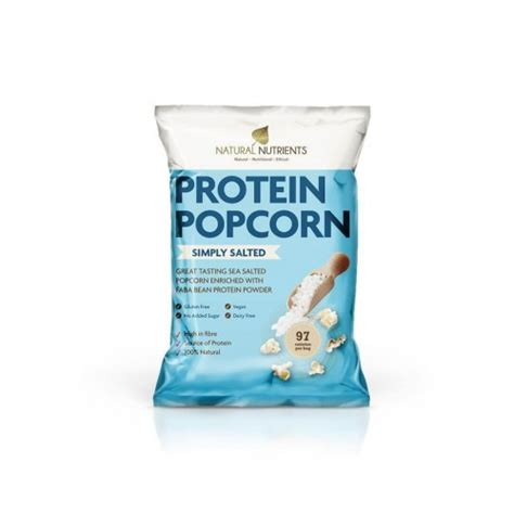 protein popcorn protein popcorn simply salted