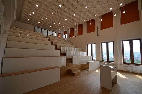 außenlen modern aua building small auditorium american