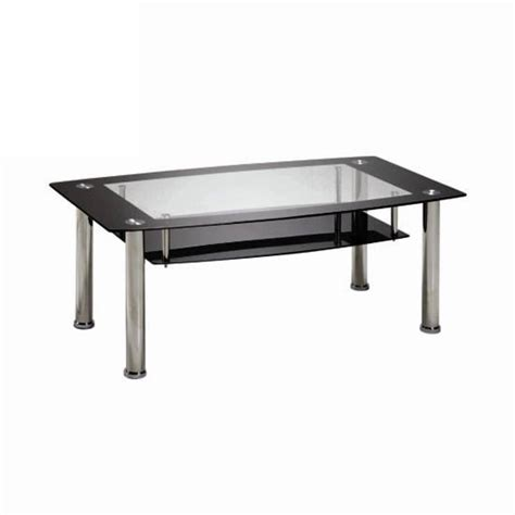 black glass coffee table with white gloss legs buy