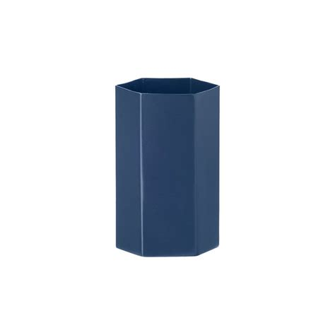 ferm living vase ferm living hexagon vase blue design shop