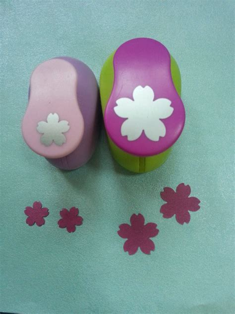 Paper Punch Crafts - 2pcs 2 5cm 1 6cm shape craft punch set punches