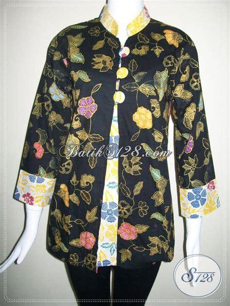 Baju Murah 337 baju batik wanita warna hitam batik berkwalitas dan batik