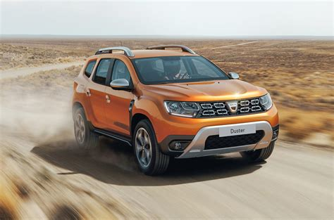 dacia duster new new dacia duster official pics show refreshed design