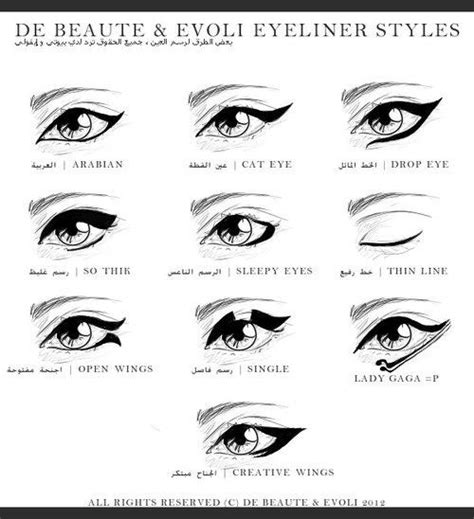 Eyeliner Guide Arabian Eyeliner
