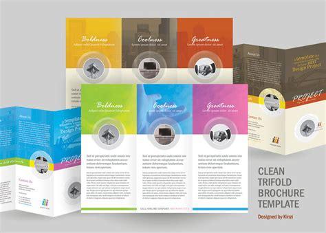 good design leaflet a perfect minimalist 8 5 x 5 5 corporate tri fold