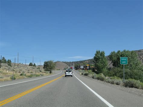 lake topaz nevada aaroads u s highway 395 northbound topaz lake