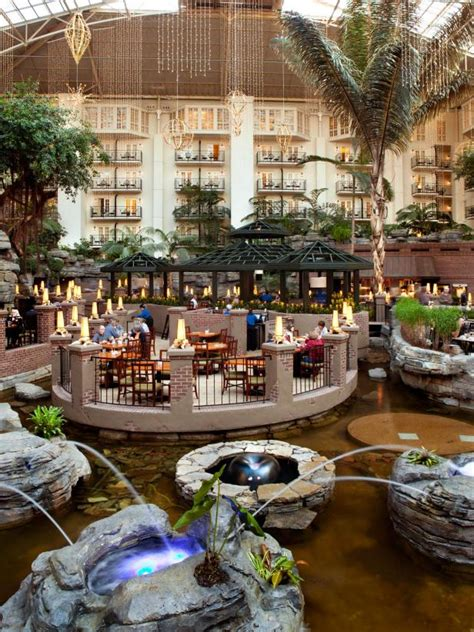 layout of opryland hotel top 10 places to stay in nashville gac