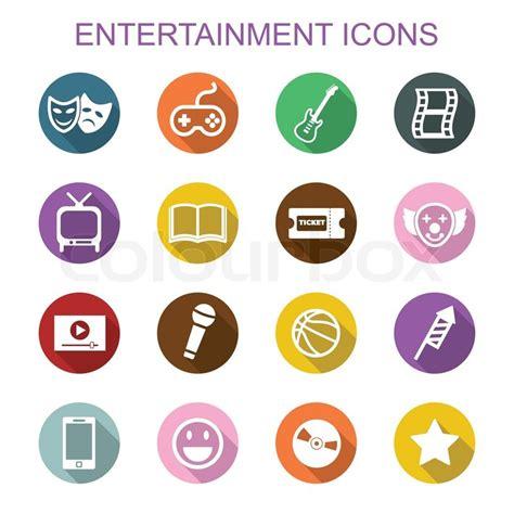 free 9 flat long shadow icons vector titanui entertainment long shadow icons flat vector symbols