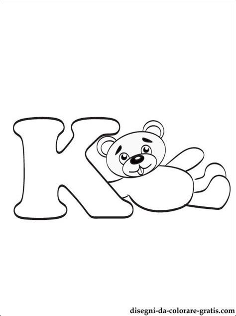 lettere dell alfabeto da colorare e stare gratis lettera k disegni da colorare disegni da colorare gratis